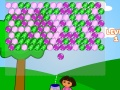 Game Dora: bubbleshooter. Play online