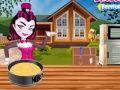 Game Monster High. Txokolate tarta. Play online