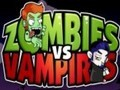 Game Zombies vs Vampires . Play online